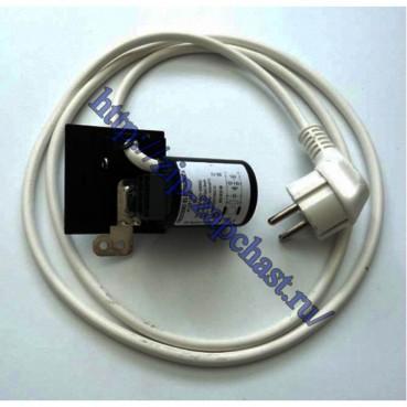 Фильтр помехоподавляющий с кабелем питания  Merloni 091633 2 клеммы