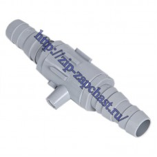 Клапан, антисифон (17x17), для сливного шланга cod458 заменяет 012677