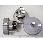 Двигатель для пылесоса 1500 W YDC07