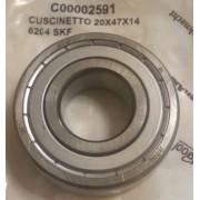 Подшипник SKF 6204 C00002591 20мм*47мм*14мм